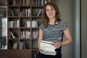 MECHELEN - Caroline Lemeire start Background Educations met avondcursussen gegeven door 42 docenten van verschillende universiteiten in binnen- en buitenland - WVK - Foto David Legreve