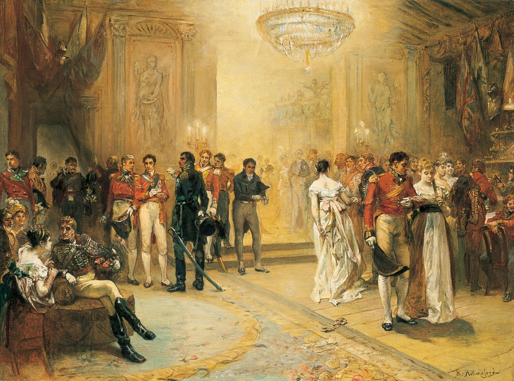 The Duchess of Richmond's Ball by Robert Alexander Hillingford