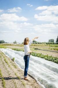 © Senne Van der Ven Corazon op haar plukboerderij