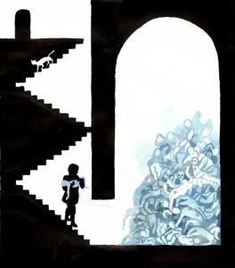 Blauwbaard © Brecht Evens